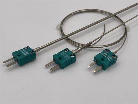 Thermocouple chemisé connecteur miniature série CC