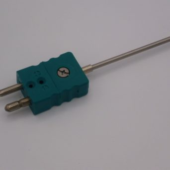 Mineral insulated thermocouple with strandard connector CCS serie