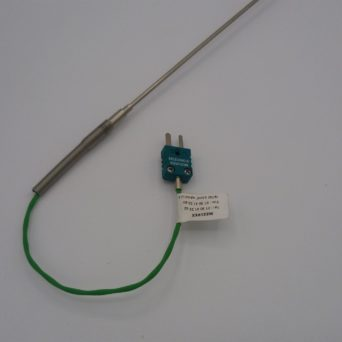Mineral insulated thermocouple with cable extension CJ