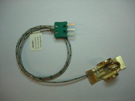 Photo c'un capteur de temperature thermocouple frotteur Mesurex SE60