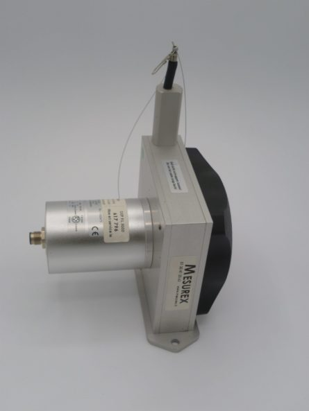 Cable displacement sensor