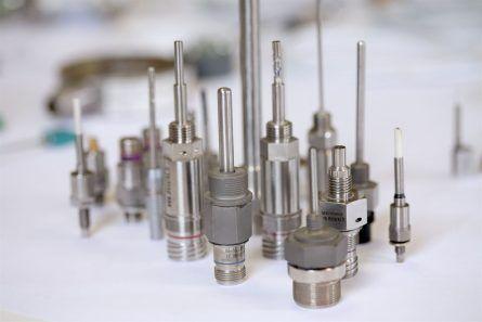 Photo de capteurs de temperature, pression, force