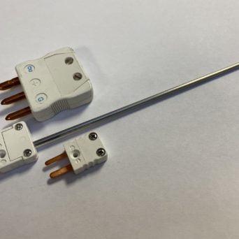 PT100 connecteur mâle miniature