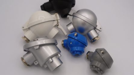 PT100 industrial version with head and compression fitting G1/4, G1/2