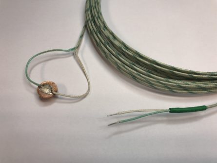 Thermocouple pastille cuivre DC12