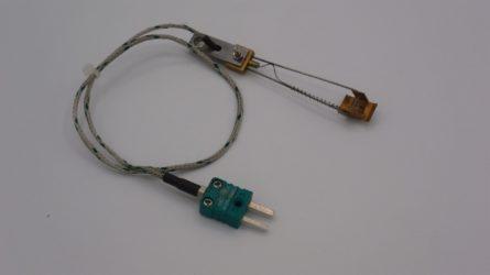 Photo d'un capteur de temperature thermocouple frotteur SEK49 type K