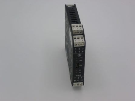 Analog and Modbus Amplifier for strain gauge sensors reference TR FO RS485