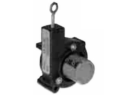 Wired position sensor with analog output DEPF
