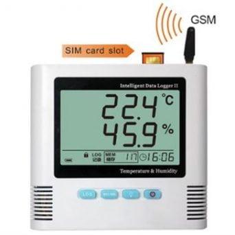Thermomètre hygromètre alarme type TRHUGSM
