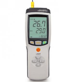 Afficheur Enregistreur portable de température 1, 2, 4 voies type PNE-V