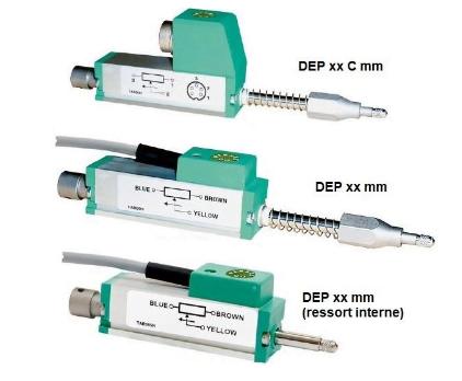 Potentiometric probe type DEP