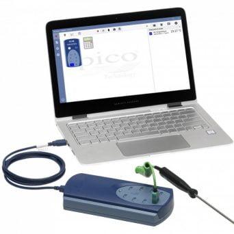 Enregistreur de température avec sortie USB -EN DAT T° 8V
