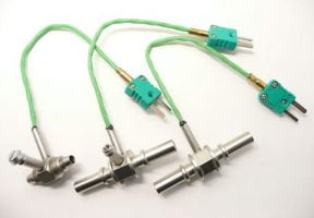 Thermocouple for piping