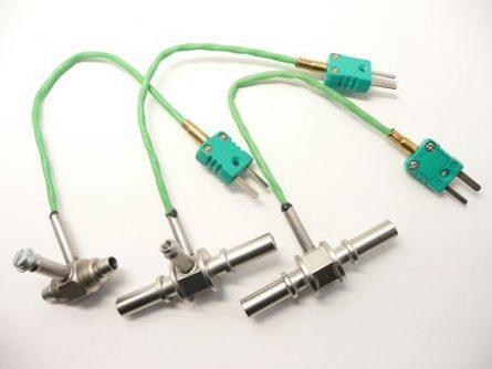 Thermocouple type K pour durite ou tuyauterie