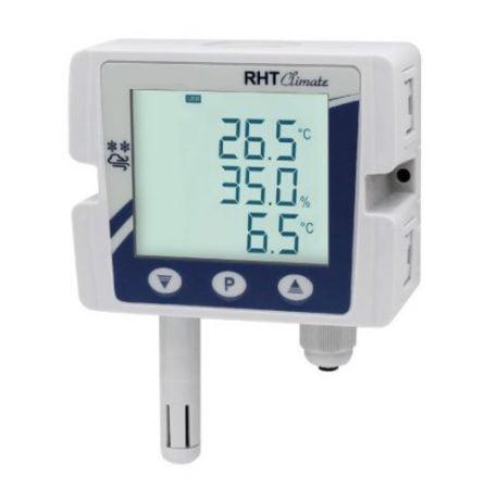 Capteur d'humidité et de température avec afficheur intégré série -TRTH