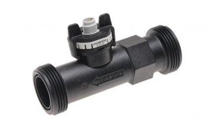 Vortex flowmeter for liquid 150 l/min