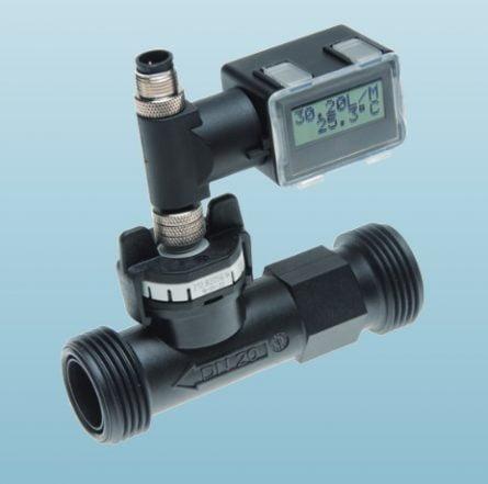 Vortex flowmeter for liquid with display 150l/min