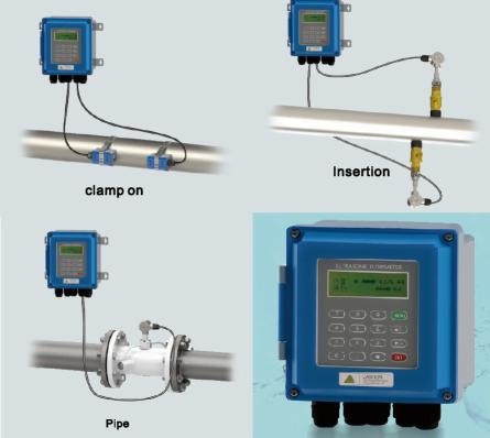 Ultrasonic flowmeter QTUF serie