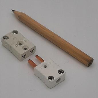 Connecteurs miniatures pour PT100