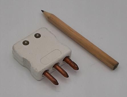 Standard connectors for PT100