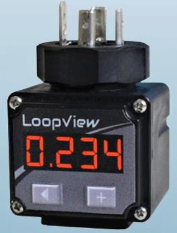 Afficheur connecteur DIN pour capteur de pression LOOPVIEW